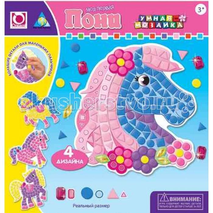 ORB Factory Мозайка-набор для малышей Пони 4 шт. 05072