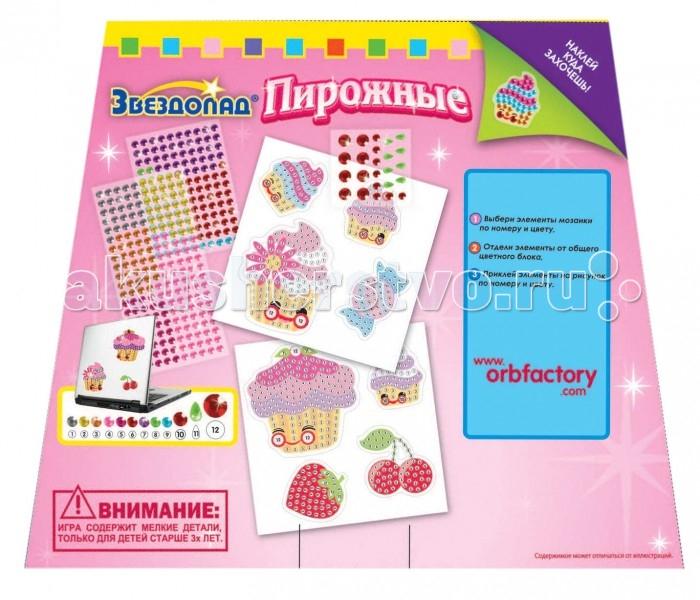 ORB Factory Мозайка-наклейки Пирожные 8 шт. 05062