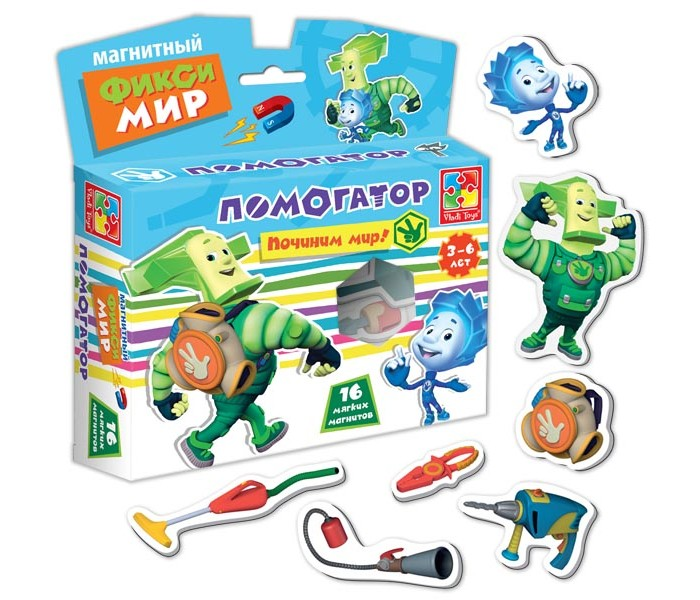 Vladi toys Игра магнитная Фикси-мир Помогатор