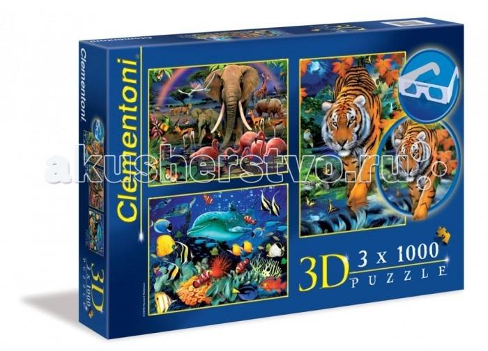 Clementoni ���� 3D ������ �������� (3�1000 ���������)