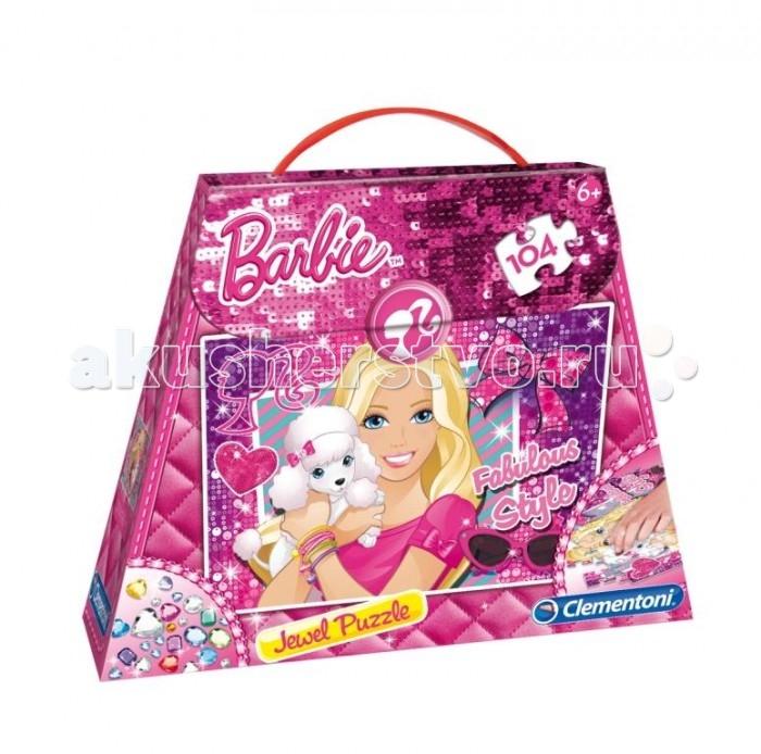 Clementoni Пазл Barbie Сказочный стиль (104 элемента)