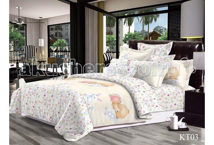 Постельное белье Dream Time Сладкие сны (4 предмета)Сладкие сны (4 предмета)Постельное белье Dream Time Сладкие сны - это 1.5-спальный комплект постельного белья, который отвечает самым высоким стандартам качества.  Особенности: Изделия не вызывают аллергический реакций, для них используется 100% хлопок (сатин) и импортные красители Яркая цветовая гамма, современные, стильные и подходящие расцветки для мальчиков и для девочек Долговечное, прочное и износостойкое постельное белье  Размеры: Пододеяльник: 215х145 см Простыня: 235х150 см  Наволочки 2 шт: 50х70 см  Рекомендации по уходу: Постельное белье следует стирать при температуре 40 градусов Наволочки и пододеяльники следует стирать вывернутыми на изнаночную сторону Отжим в режиме 600 об/мин. Гладить при низкой и средней температуре Не использовать отбеливатели<br>