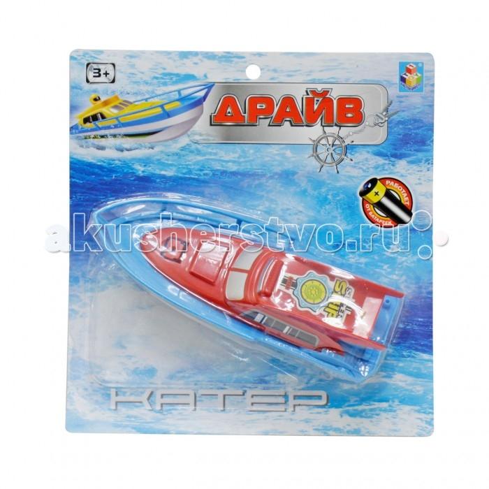 1 Toy Катер на батарейках 22 смКатер на батарейках 22 см1 Toy Катер на батарейках 22 см Т58766  Катер Драйв - отличная самоходная игрушка для детей от трех лет для игр на воде. В холодное время года им можно играть дома в ванной, а в теплую и жаркую погоду - в бассейне. Модель является копией оригинального катера серии Drive, выполнена из пластика красного цвета и работает на батарейках, которые надежно защищены от попадания влаги с целью безопасности.<br>