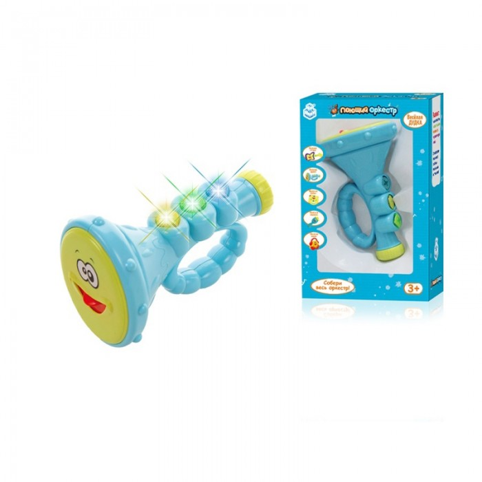 Музыкальная игрушка 1 Toy Поющий оркестр Дудочка