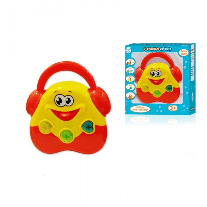 Музыкальная игрушка 1 Toy Поющий оркестр Радио