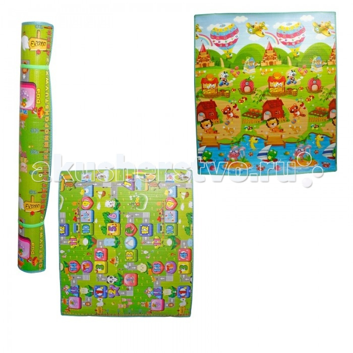 Игровой коврик 1 Toy Средний двухсторонний 150х180х1 см