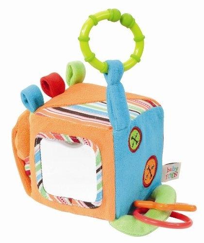 Куб сделан из высококачественных материалов, он мягкий и его...  Подвесные игрушки Fehn.