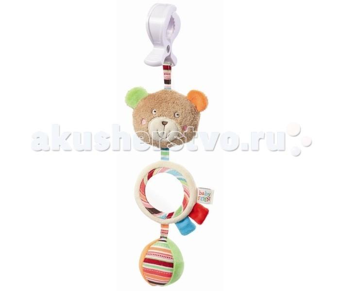 Подвесная игрушка Fehn с зеркальцем Медвежонок Оскар
