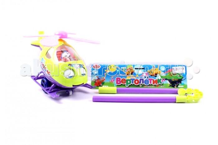 Каталка-игрушка Play Smart Вертолетик 29 смВертолетик 29 смPlay Smart Игрушка-каталка Вертолетик 29 см Р40868  Игрушка-каталка Вертолетик изобилует множеством цветных элементов которые так нравятся маленьким детишкам, к тому же, они стимулируют цветовое восприятие детей. Каталку можно начинать использовать буквально с первых шагов малыша. Она оснащена ручкой, за которую удобно держаться, а во время движения у вертолетика вращаются лопасти, тем интенсивнее, чем быстрее идет малыш.<br>