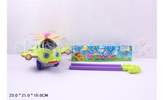 Каталка-игрушка Play Smart Вертолетик 29 смВертолетик 29 смPlay Smart Игрушка-каталка Вертолетик 29 см Р40872  Игрушка-каталка, при помощи которой малыш тренируется в удержании равновесия, координации движения. При движении каталки вращается пропеллер вертолета, а скорость его вращения зависит от скорости движения.<br>