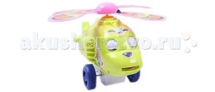 Каталка-игрушка Play Smart Вертолетик 29 см