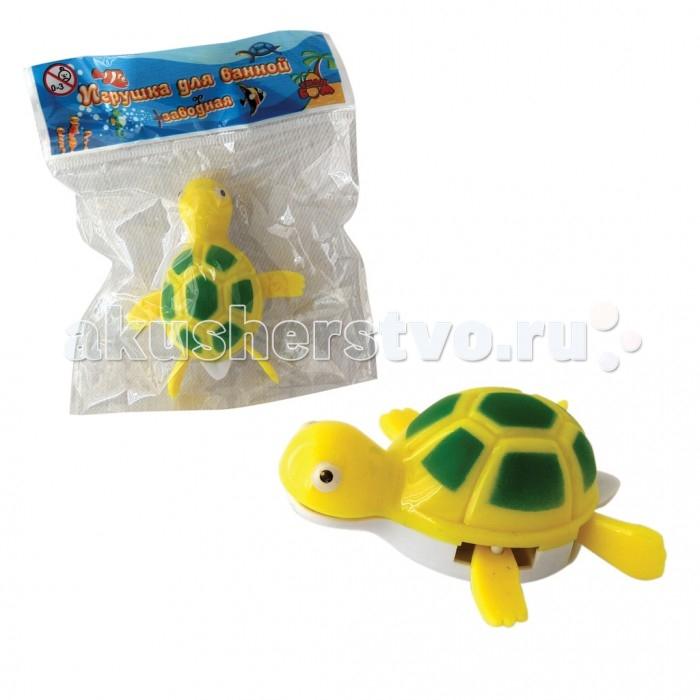 Тилибом Заводная игрушка для ванной Черепаха 7 см