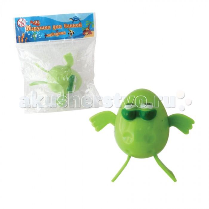 Тилибом Заводная игрушка для ванной Лягушка 7 см