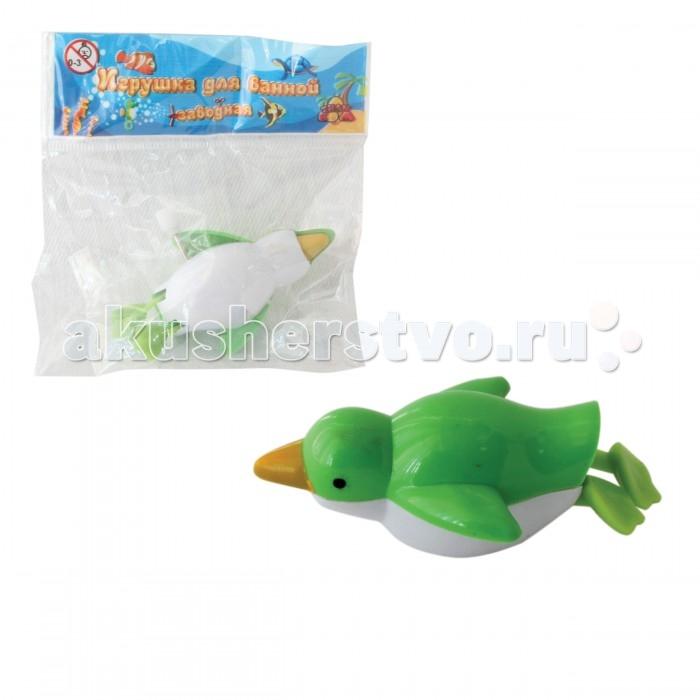 Тилибом Заводная игрушка для ванной Пингвин 7 см