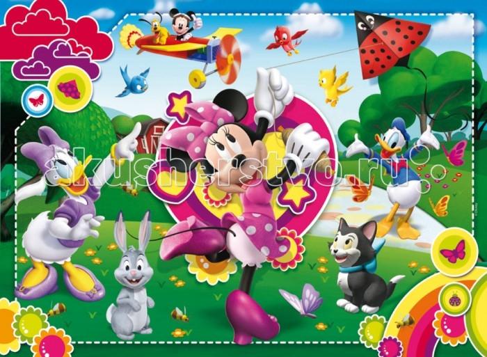 Clementoni Пазл макси Disney Минни с друзьями (24 элемента)Пазл макси Disney Минни с друзьями (24 элемента)Пазл - великолепная игра для семейного досуга. Сегодня собирание пазлов стало особенно популярным, главным образом, благодаря своей многообразной тематике, способной удовлетворить самый взыскательный вкус. А для детей это не только интересно, но и полезно. Собирание пазла развивает мелкую моторику у ребенка, тренирует наблюдательность, логическое мышление, знакомит с окружающим миром, с цветом и разнообразными формами.<br>