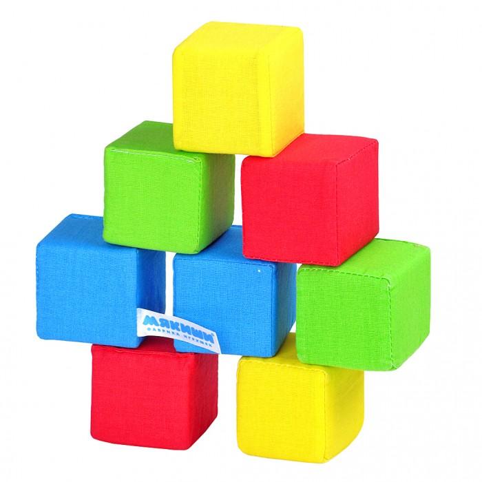 Развивающая игрушка Мякиши Кубики 4 цветаКубики 4 цветаКубики 4 цвета  - это яркий набор из 8 мягких кубиков для самых маленьких. Цветные кубики позволят ребёнку овладевать навыками конструирования, помогут развивать его логическое и пространственное мышление, внимание, восприятие цвета и формы, будут тренировать память, совершенствовать мелкую моторику, обогащать словарный запас. Размер кубиков оптимально подобран для маленьких ручек малыша.  - 8 кубиков - 4 цвета  - 1 погремушка в одном кубике  Мягкие кубики, которые можно сжимать и разжимать ручками, помогут развитию моторики рук ребенка. Эти кубики понравятся вашему ребенку.  Кубики изготовлены из высококачественной ткани с мягким наполнителем. Поэтому они абсолютно безопасны даже для самых маленьких детей.    Изготовлено из гипоаллергенных материалов.<br>