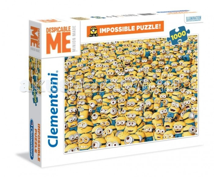 Clementoni Пазл Minions Бесчисленное множество (1000 элементов)