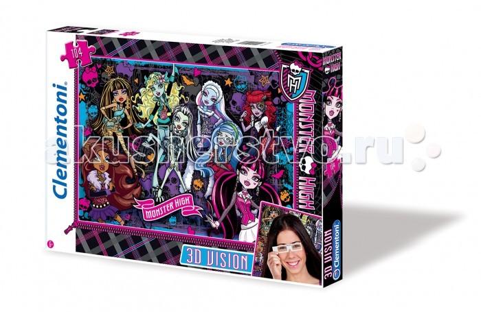 Clementoni ���� 3D Monster High - ����� �������� (104 ��������)