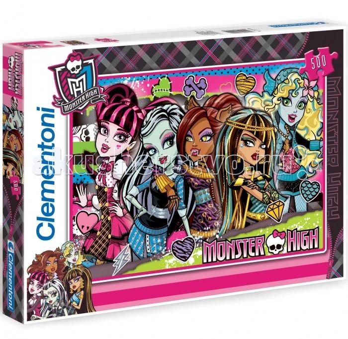 Clementoni ���� Monster High - �������� � �������� (500 ���������)