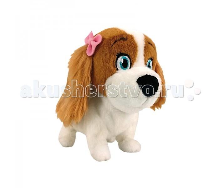 Интерактивная игрушка IMC toys Собака ЛолаСобака ЛолаИнтерактивная игрушка IMC toys Собака Лола  Если ваш малыш со слезами на глазах уговаривает Вас купить ему собаку, но такой возможности пока нет, то стоит обратить внимание на Лолу. Ведь это не просто игрушка, похожая на живого щенка, она еще и умеет реагировать на команды, а также поднимает настроение своими песенками. С ней можно гулять по квартире, и Лола станет полноценной заменой живой собаке на долгое время.   Особенности   Игрушка напоминает миловидную собачку бело-коричневого цвета по имени Лола с большими выразительными глазками.  В комплекте предусмотрена инструкция, которая поможет детям разобраться в функционале изделия.  У Лолы приятная на ощупь шёрстка и длинные ушки, на одном из которых есть розовый изящный бантик.  Собачка может реалистично двигаться, выполнять команды, петь весёлые песенки и разговаривать.  Лола окрашена в яркие цвета стойкими нетоксичными красителями, которые надолго сохраняют первоначальный вид изделия.  Игрушка изготовлена из приятного на ощупь текстильного материала высокого качества, который можно легко очистить от загрязнений.    Размер: 30 х 22 х 29 см.  Питание: 2 батарейки АА (в комплекте).<br>