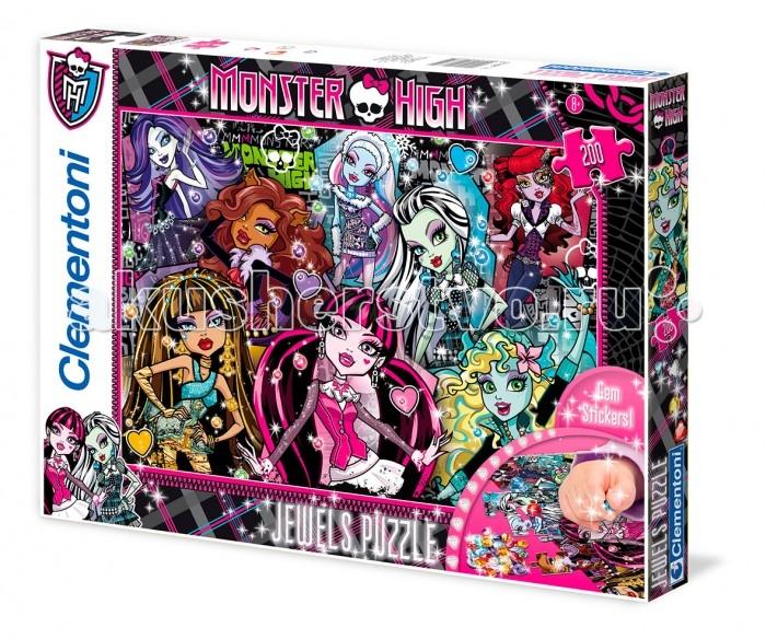 Clementoni ���� �� �������� Monster High - ����������� ����������� (200 ���������)