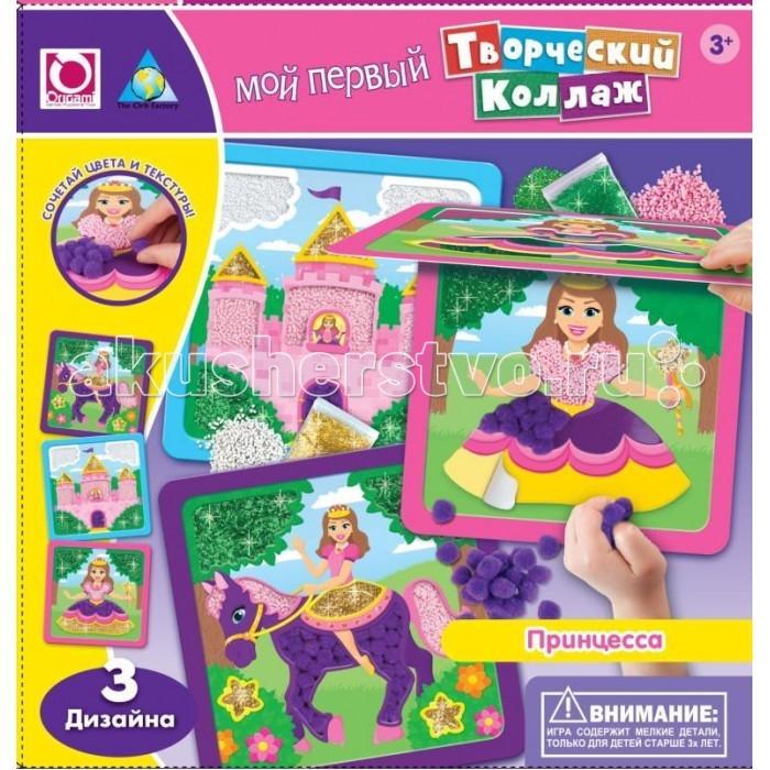 ORB Factory Творческий коллаж Принцесса 64853Творческий коллаж Принцесса 64853Набор для создания коллажа Принцесса включает в себя все необходимое, чтобы познакомить малыша с техникой творческого коллажа.  В набор входят: 3 картонные основы с различными дизайнами, 3 пластиковые подвески, 2 пакетика с пенными шариками, 1 пакетик с помпонами, 2 пакетика с блестками и иллюстрированная инструкция.  Ребенок самостоятельно решает как расположить те или иные элементы. Набор поможет развить мелкую моторику, воображение и пространственное мышление, а так же научит сочетать различные цвета и текстуры.   Готовые коллажи с изображениями прекрасной принцессы, волшебного замка и сказочного пони станут предметом гордости малыша, с помощью входящих в комплект подвесок их можно использовать для оформления детской комнаты.<br>