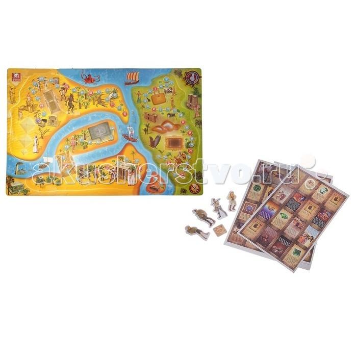 S+S Toys Настольная игра Сокровища древнего ЕгиптаНастольная игра Сокровища древнего ЕгиптаS+S Toys Настольная игра Сокровища древнего Египта СС76704  Настольная 3D игра Сокровища Древнего Египта от S+S Toys поможет объединить семью или компанию друзей. Она рассчитана на четырех игроков. Такие игры помогут отвлечь детей от гаджетов, дать им живое общение и весело провести время. У этой игры простые правила, она развивает логику, смекалку и внимание. Ребенок узнает много интересного из истории, его увлечет соревновательная азартная игра и порадует живым общением с семьей или друзьями.  Особенности: Комплект: 3D карта, 4 фишки персонажа, 110 карточек, электронный диск, правила игры. Количество предполагаемых игроков: 1-4. Размер игрового поля: 60 х 2 х 40 см.<br>