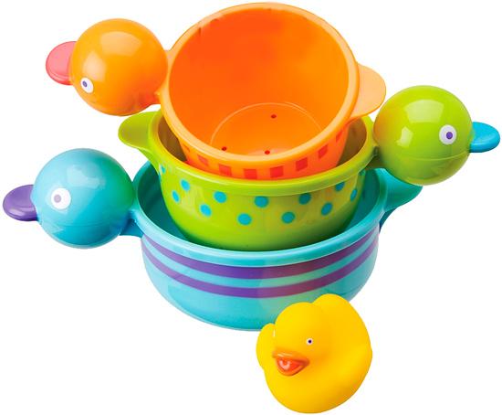Игрушки для купания Alex Игрушка для купания Чашечки-утята