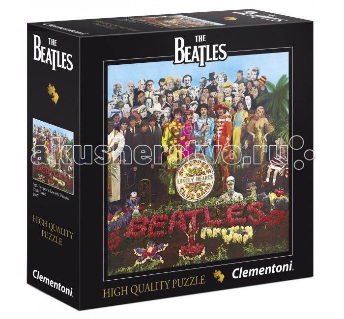 Clementoni Пазл The Beatles - Sgt. Peppers Lonely Hearts Club Band (289 элементов)Пазл The Beatles - Sgt. Peppers Lonely Hearts Club Band (289 элементов)Пазл - великолепная игра для семейного досуга. Сегодня собирание пазлов стало особенно популярным, главным образом, благодаря своей многообразной тематике, способной удовлетворить самый взыскательный вкус. А для детей это не только интересно, но и полезно. Собирание пазла развивает мелкую моторику у ребенка, тренирует наблюдательность, логическое мышление, знакомит с окружающим миром, с цветом и разнообразными формами.<br>
