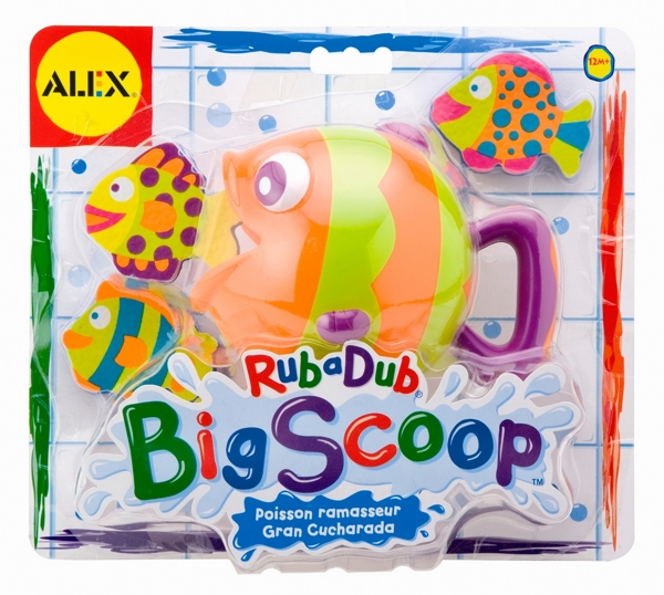 Alex Игрушка для ванной Хищник и рыбки