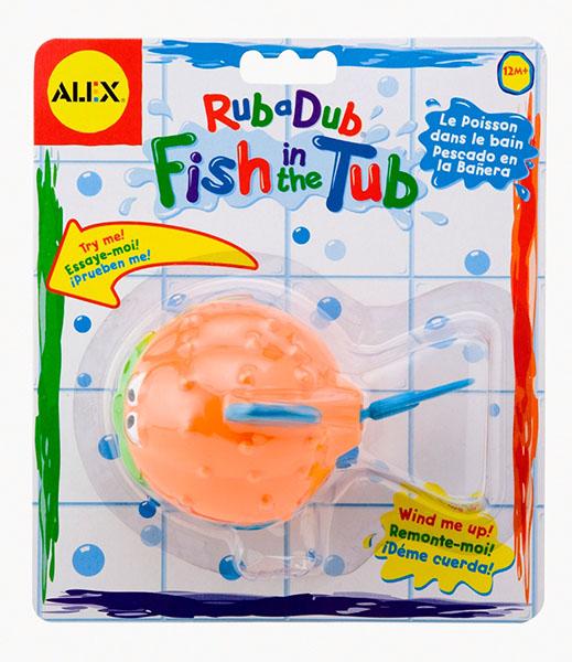 Alex Игрушка для ванной Рыба-ёж