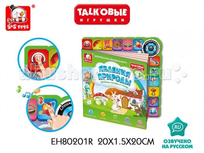 S+S Toys Talk'овые игрушки книга Явления природы