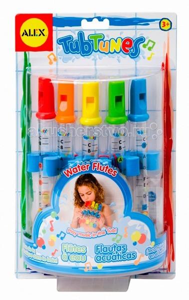 Игрушки для купания Alex Игрушка для ванной Водяные флейты