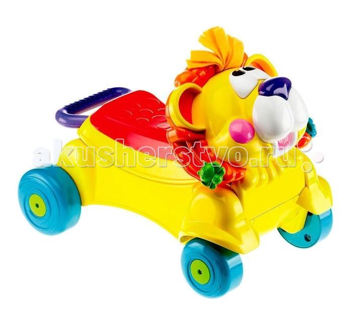 Ходунки Tinbo Toys каталка Лев 2 в 1