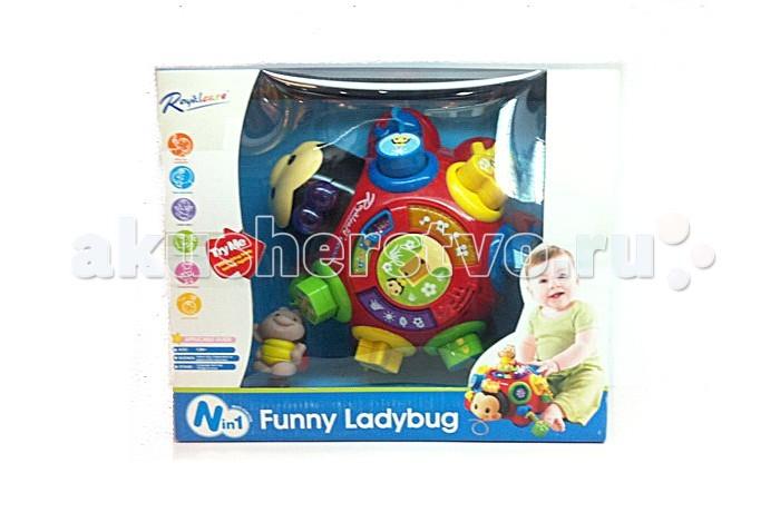 Развивающая игрушка Tinbo Toys Сказочная Божья КоровкаСказочная Божья КоровкаРазвивающая игрушка Tinbo Toys Сказочная Божья Коровка выполненная в форме забавной божьей коровки. Она имеет различные звуковые эффекты. Во время игры можно услышать веселые мелодии.  Характеристики: развивающая, обучающая игрушка Сказочная Божья Коровка многофункциональная игрушка с различными звуковыми эффектами развивает мелкую моторику рук, музыкальный слух, визуальное восприятие, логику, мышление.<br>