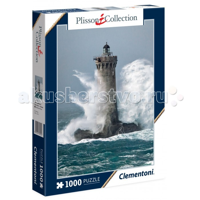Clementoni ���� Plisson Collection - ����-����� ��� (1000 ���������)