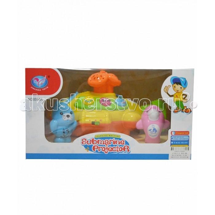 Музыкальная игрушка Tinbo Toys Подводная лодка с проекторомПодводная лодка с проекторомМузыкальная игрушка Tinbo Toys Подводная лодка с проектором выполненная в виде подводной лодки с проектором и веселыми животными. Она оснащена музыкальными кнопками и различными звуковыми эффектами.  Характеристики: развивающая игрушка Подводная лодка с веселыми животными музыкальные эффекты, веселые музыкальные кнопки развивает мелкую моторику рук, музыкальный слух, визуальное восприятие.<br>