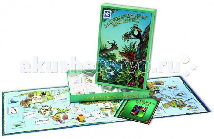 Новое поколение Настольная игра Занимательная зоологияНастольная игра Занимательная зоологияНовое поколение Настольная игра Занимательная зоология - это настольная игра, которая знакомит детей с различными животными, населяющими нашу планету, и средой их обитания.   В нашей игре Вам необходимо разложить карточки с животными на игровое поле. Сосредоточьтесь и будьте внимательны, не отправьте белого медведя в Африку, а кенгуру на Северный полюс! Победителем в игре становится тот, кто первым правильно назовет и разместит всех животных на игровом поле.   В комплект входят: Игровое поле  Правила игры  56 карточек с изображением животных  Кубик                                    Размер игрового поля: 315 х 826 мм.<br>