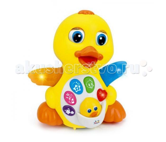 Развивающая игрушка Tinbo Toys Уточка TB01916616Уточка TB01916616Развивающая игрушка Tinbo Toys Уточка TB01916616 приведет в восторг Вашего малыша, ведь игрушка не только красивая, но и многофункциональна.  Характеристики: развивающая игрушка Уточка многофункциональная игрушка с различными звуковыми и световыми эффектами сверкающее сердечко развивает мелкую моторику рук, музыкальный слух, визуальное восприятие, логику, мышление.<br>