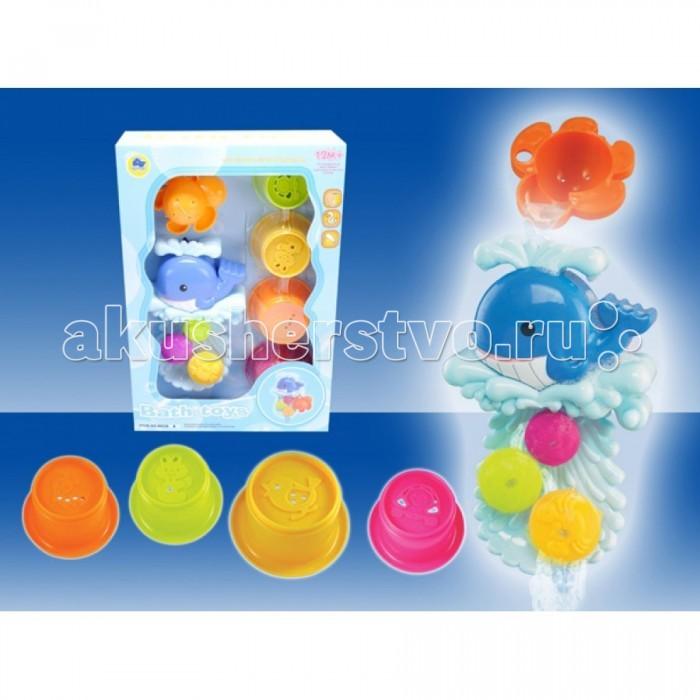 Tinbo Toys Развивающая игрушка Набор для купания Рыбка 7 штук