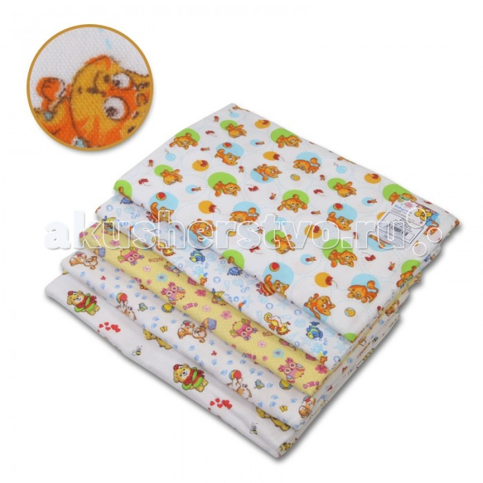 Пеленка Baby Care Пеленка фланель 120х75