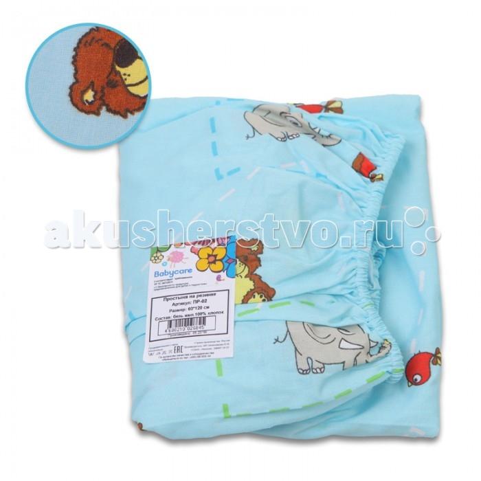 Baby Care Простыня 60х120 на резинке