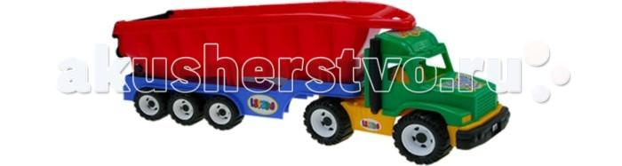 Hemar Самосвал Maxi LeskoСамосвал Maxi LeskoСамосвал оснащен большим кузовом, в котором можно перевозить любые игрушки.  Яркий и вместительный, он обязательно привлечет внимание ребенка.  С этой машиной можно играть, как дома, так и на улице, развивая координацию движений, внимательность, усидчивость и мелкую моторику рук.   Изготовлен из экологически чистой и нетоксичной цветной пластмассы.<br>