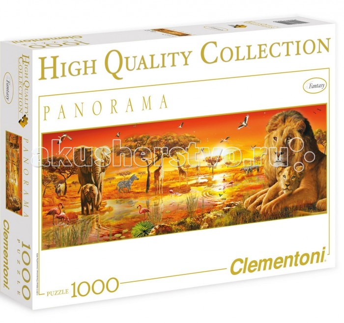 Clementoni ���� �������� - ������ ��������� ����������� ������� (1000 ���������)