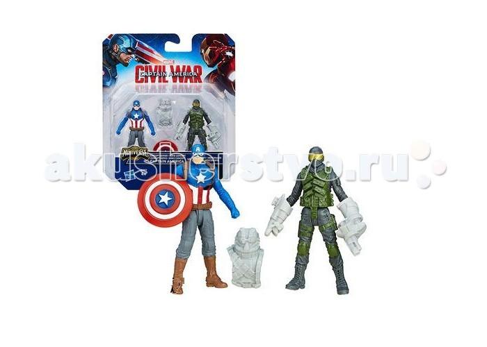 Avengers Игровой набор из 2 фигурок Мстителей: Капитан Америка и Железный ЧеловекИгровой набор из 2 фигурок Мстителей: Капитан Америка и Железный ЧеловекAvengers Игровой набор из 2 фигурок Мстителей: Капитан Америка и Железный Человек. Человечество опять в опасности, и давние соперники Капитан Америка и Железный Человек должны вновь встретиться в бою против зла.   Супергерои всегда идут до конца к поставленной цели и используют даже малейший шанс для победы, особенно если речь идет о спасении всего человечества. Фигурки супергероев помогут Вашему ребенку проявить фантазию и оказаться в своих собственных сражениях за справедливость с любимыми героями Мстителей. Каждая фигурка имеет пять точек артикуляции.   Так как игрушки небольшого размера, их всегда можно взять с собой в любые путешествия. Игровой набор совместим с Башней Мстителей.   В комплект входят 2 фигурки и дополнительная броня.<br>