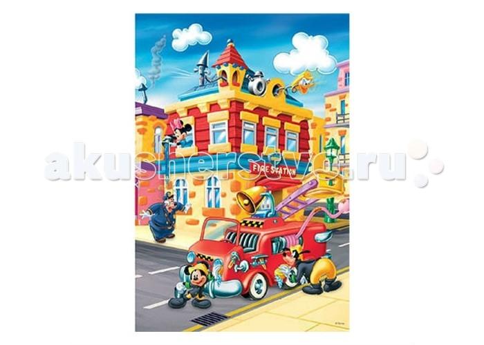 Trefl Пазл Микки Маус - Пожарная охрана 24 элементаПазл Микки Маус - Пожарная охрана 24 элементаTrefl Пазл Микки Маус - Пожарная охрана 24 элемента  Красочный пазл Пожарная охрана с изображением любимых персонажей известного мультфильма не оставит ребенка равнодушным. Пазл состоит из деталей большого размера, которые ребенку удобно держать в руках, а также подбирать нужные детали. Такое увлекательное занятие позволяет не только весело провоести время, но еще и с пользой. Собирая пазл, ребенок тренирует зрение, логику, память и усидчивость.  Возраст: от 3 лет Количество деталей: 24 Размер изображения: 60 x 40 см.<br>