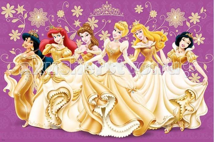 Trefl Пазл Принцессы в золотом 24 элементаПазл Принцессы в золотом 24 элементаTrefl Пазл Принцессы в золотом 24 элемента  Этот пазл с макси-деталями изготовлен специально для маленьких принцесс, его можно собирать даже трехлетним крохам, ведь элементы пазла нетоксичны, их невозможно проглотить и согнуть, потому что они сделаны из плотного картона Красочный пазл — это отличная развивающая головоломка, сделанная с невероятной любовью и заботой о каждой детали. Его сборка тренирует мелкую моторику, логическое и образное мышление, а также воображение Поверхность пазла не стирается и не расслаивается, поэтому можно собирать его многократно, наслаждаясь великолепной картинкой с волшебными принцессами!  Возраст: от 3 лет Количество деталей: 24 Размер изображения: 60 x 40 см.<br>