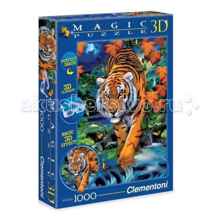 Clementoni Пазл 3D - Говард Робинсон Крадущийся тигр (1000 элементов)Пазл 3D - Говард Робинсон Крадущийся тигр (1000 элементов)Пазл - великолепная игра для семейного досуга. Сегодня собирание пазлов стало особенно популярным, главным образом, благодаря своей многообразной тематике, способной удовлетворить самый взыскательный вкус. А для детей это не только интересно, но и полезно. Собирание пазла развивает мелкую моторику у ребенка, тренирует наблюдательность, логическое мышление, знакомит с окружающим миром, с цветом и разнообразными формами.<br>
