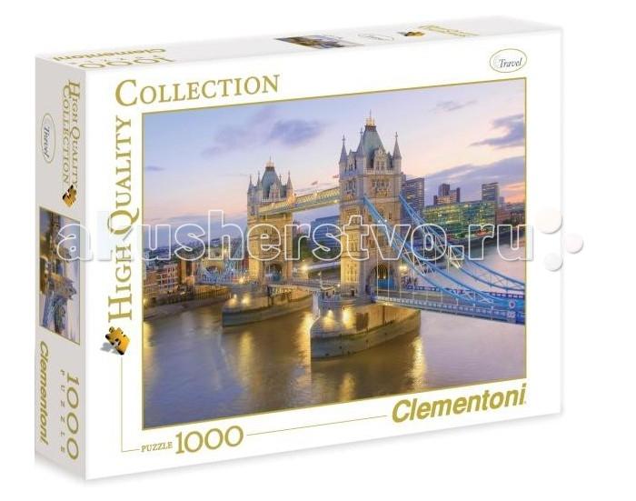 Clementoni Пазл High Quality Collection - Лондон, Тауэрский мост (1000 элементов)Пазл High Quality Collection - Лондон, Тауэрский мост (1000 элементов)Пазл - великолепная игра для семейного досуга. Сегодня собирание пазлов стало особенно популярным, главным образом, благодаря своей многообразной тематике, способной удовлетворить самый взыскательный вкус. А для детей это не только интересно, но и полезно. Собирание пазла развивает мелкую моторику у ребенка, тренирует наблюдательность, логическое мышление, знакомит с окружающим миром, с цветом и разнообразными формами.<br>