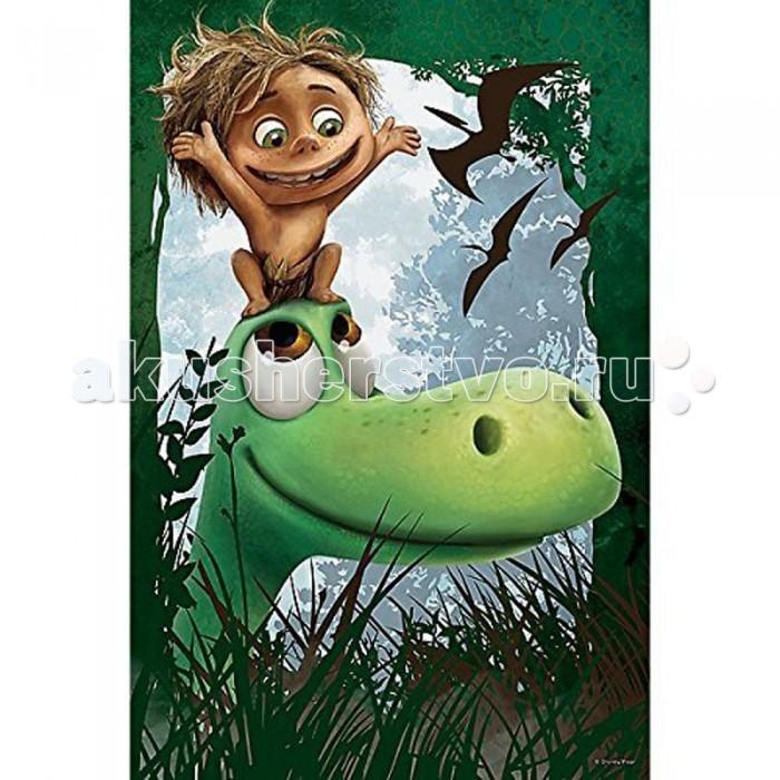 Trefl Пазл Хороший динозавр - Как хорошо, что есть друг! 60 элементовПазл Хороший динозавр - Как хорошо, что есть друг! 60 элементовTrefl Пазл Хороший динозавр - Как хорошо, что есть друг! 60 элементов  Яркий пазл на основе детского мультфильма Хороший динозавр не оставит равнодушным ребенка. Веселая картинка, состоящая из 60 красочных элементов, поможет развить усидчивость и воображение. Элементы пазла не токсичны и безопасны благодаря закругленным краям каждого элемента. Пазл легко собирается и разбирается, а элементы крепятся друг к другу так, что картинка всегда будет выглядеть цельной. При окончательной сборке вы увидите главных героев из мультфильма – динозавра и маленького мальчика.  Возраст: от 4 лет Количество деталей: 60 Размер изображения: 33 x 22 см<br>